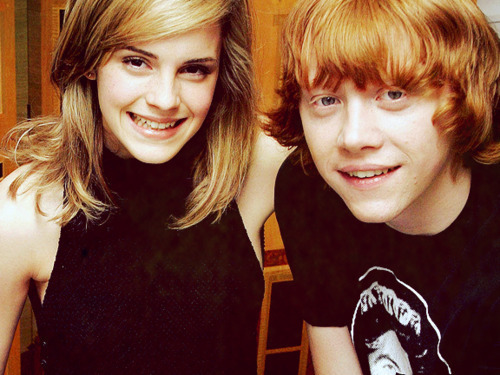 Emma and Rupert <33
