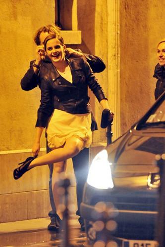 Emma films Lancomé Commercial {In Paris}
