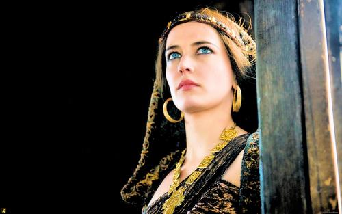 Eva Green (Morgana) Обои