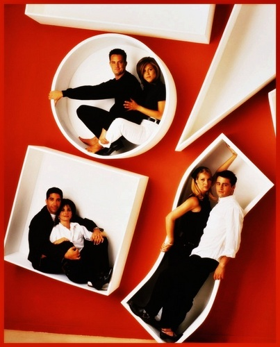 Friends Cast - television Photo