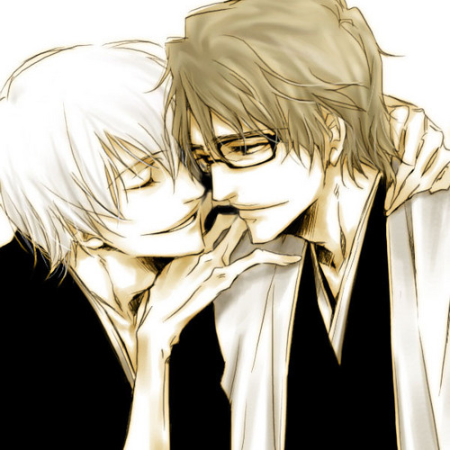 Yaoi wallpaper entitled Gin and Aizen