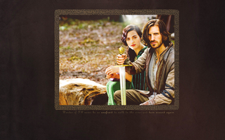 Gwaine&Morgana