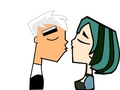 Gwen and danny - total-drama-island fan art