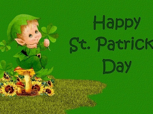 Happy St Patricks ngày Berni