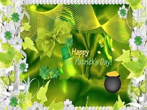 Happy St Patricks ngày Princess