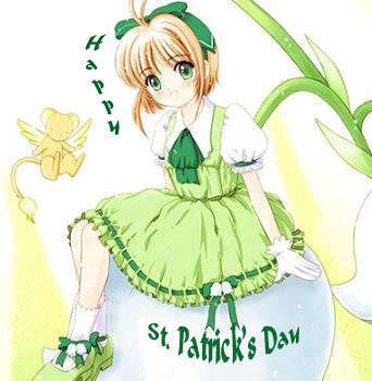 Happy St Patricks 일 Rachel ♥