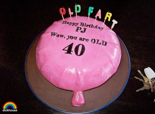 Johnny Knoxville's 40th Birthday Cake!