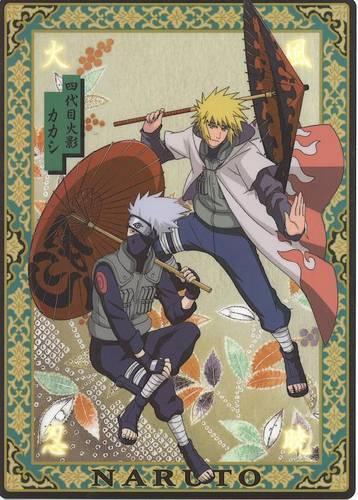 Kakashi and Minato