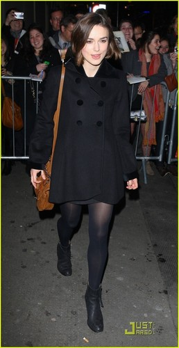 Keira Knightley: All Dressed In Black