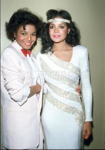 LATOYA AND JANET JACKSON 1983