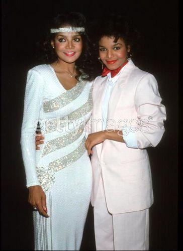 LATOYA AND JANET JACKSON 1983