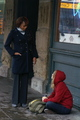 Laura &amp; Vivica A. Fox in Street - laura-ramsey photo