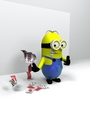 Magic Minion - despicable-me fan art