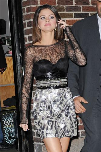 March 14 - Arriving & Leaving The Late Night Show With David Letterman, 2011