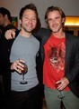 Michael Weston & Sam Trammell @ the 2011 Sunset Cocktails Event