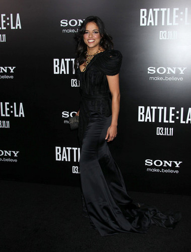 Michelle @ Battle: LA Los Angeles Premiere - 2011