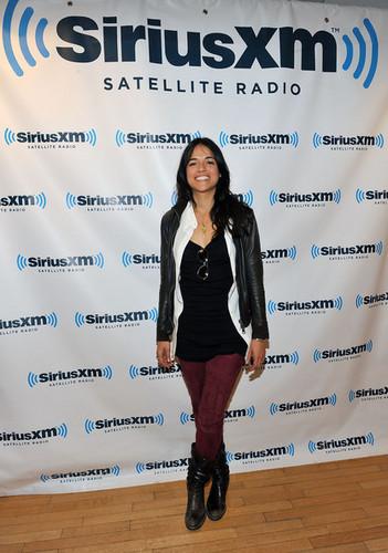 Michelle visits Sirius XM Studio - 2011