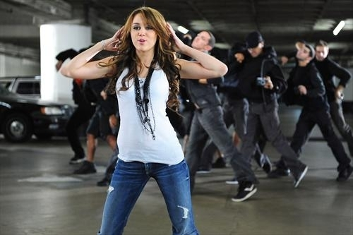 Miley cyrus fly on the wall video!