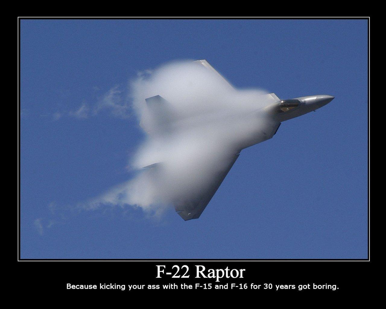Скачать обои ф22, раптор, самолет, небо бесплатно для рабочего стола в разр