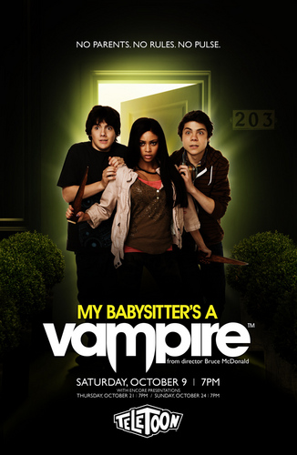 My Babysitter's A Vampire wallpaper entitled My babysitters a vampire