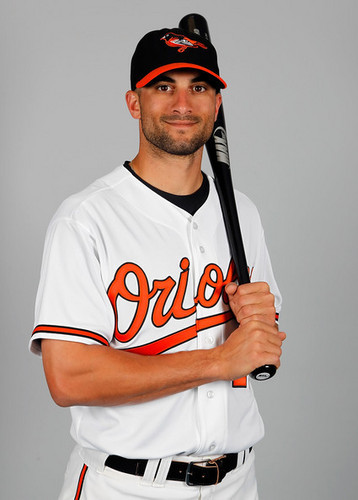 Nick Markakis BAL 2011 Photo Day