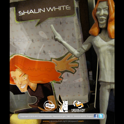 Shaun White wallpaper containing anime titled OMG it's SHAUN WHITE! Toy Art