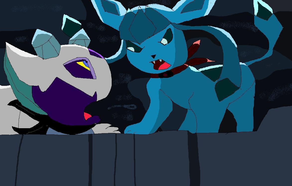 Glaceon Images Pmd You Won T Escape Froslass Hd Wallpaper And Background Photos 20139277