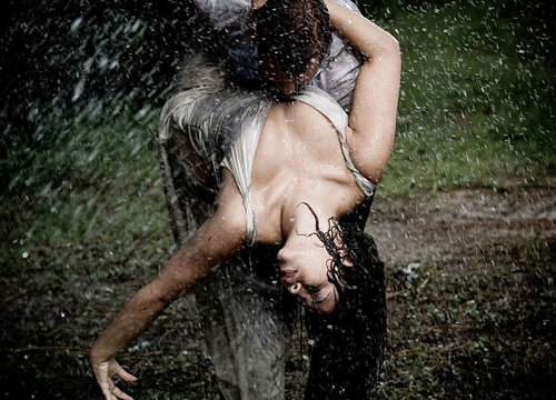 Passion in the rain