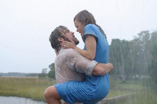 Passion in the rain