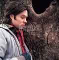 Rufus Wainwright in Downtown Manhattan