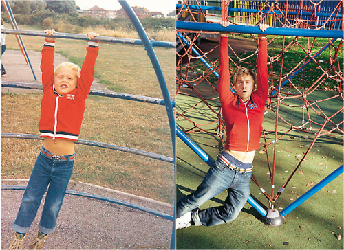 Russell Howard's Childhood Recreated!