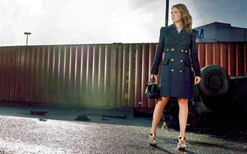 NCIS wallpaper probably with a well dressed person and a business suit called Sasha Alexander (Kate Todd) Wallpaper