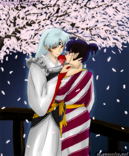 犬夜叉 壁紙 entitled Sesshomaru and Kagura
