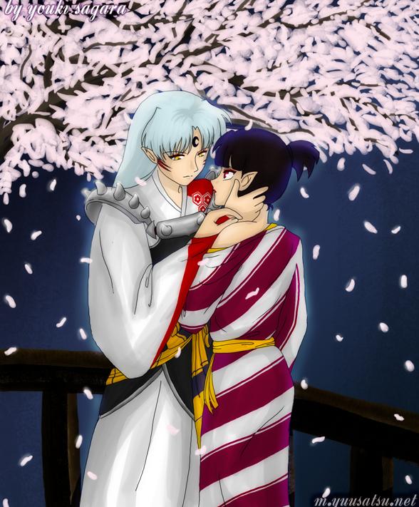 Sesshomaru and Kagura