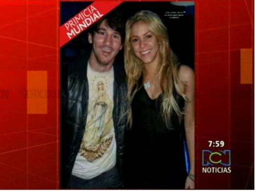 shakira and Messi