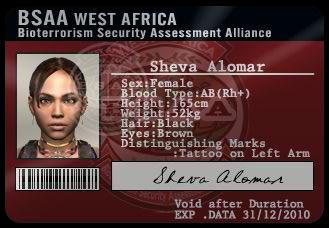 Sheva B.S.A.A ID