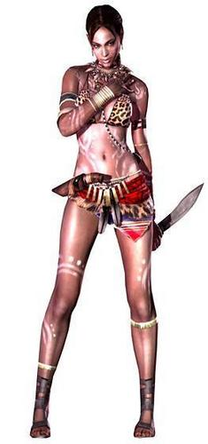 Sheva Official Render -- Tribal Outfit