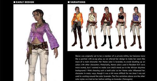 Sheva's Older Concept Designs