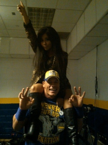 Snooki and John Cena