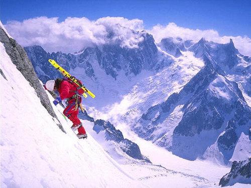 snow پیپر وال with a ski resort titled Snowboarding!