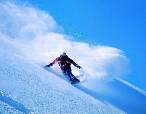 snow wallpaper possibly with a ski resort titled Snowboarding!