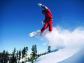 Snowboarding! - snow photo