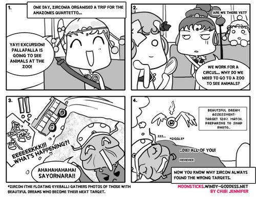 Some MoonSticks Comics