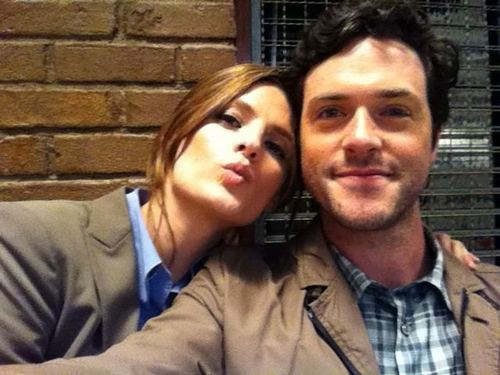 Stana with Brendan Hines