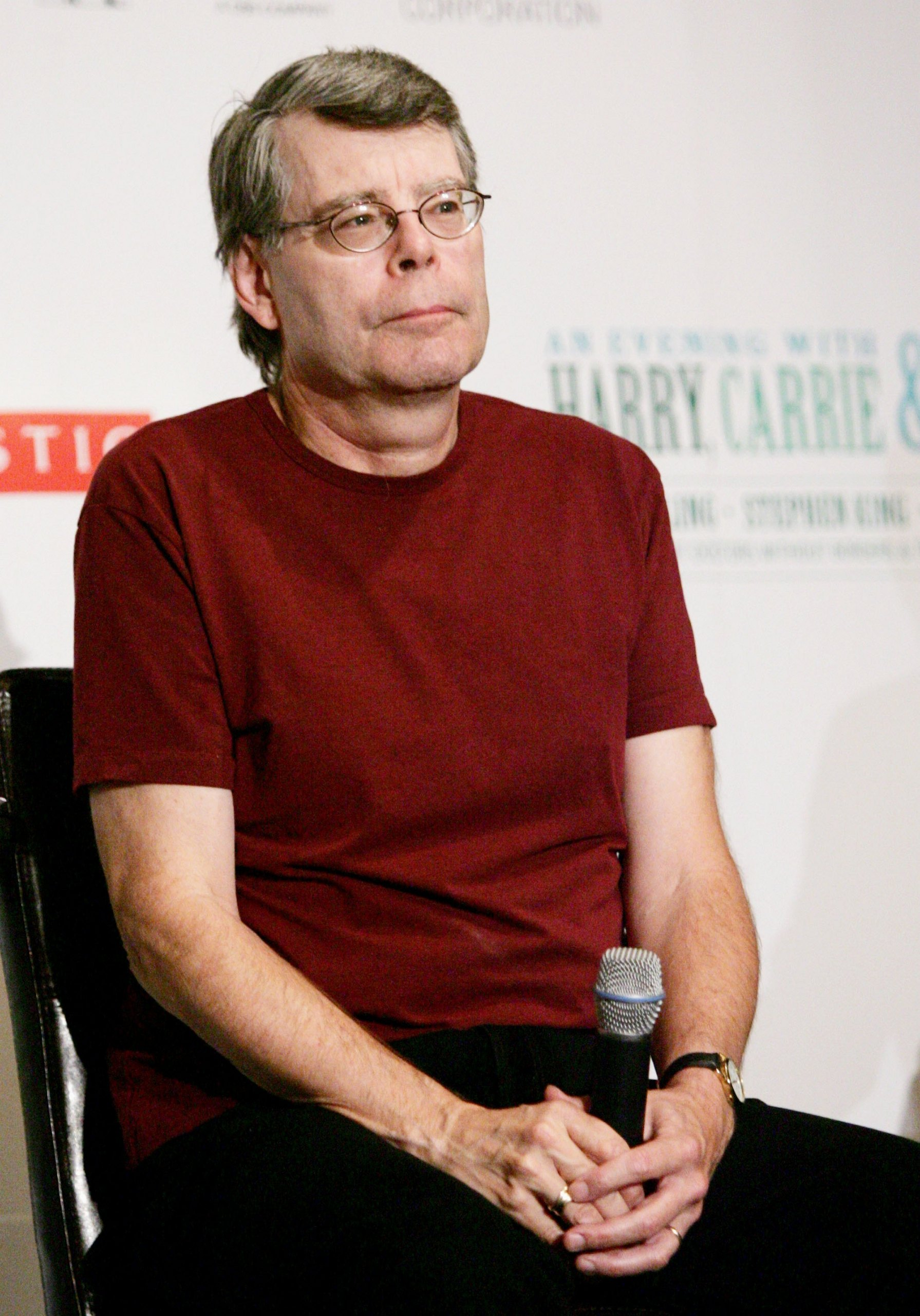 stephen king More than 30 years after stephen king terrified us with the shining, he's written a sequel, drawing on his alcoholism and a near-death experience he.