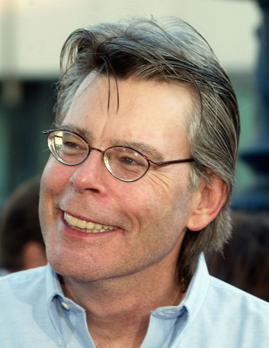 Stephen King wallpaper probably containing a portrait entitled Stephen King