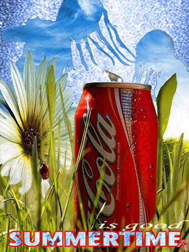 Coke wallpaper called SummerTime