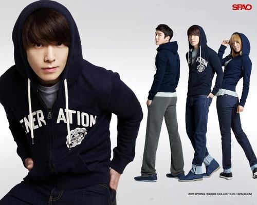 Super Junior & Hyoyeon - For Spao 2011