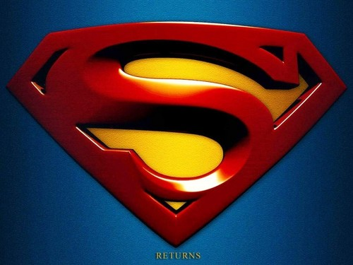 Superman Hintergrund probably containing a fleur de lis called Superman Returns