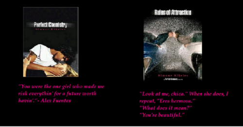 Sweet frases from the Perfect Chemistry Series